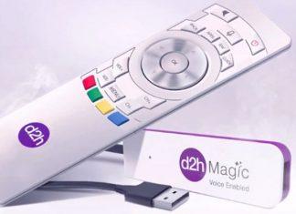 d2h magic voice enabled stick launched