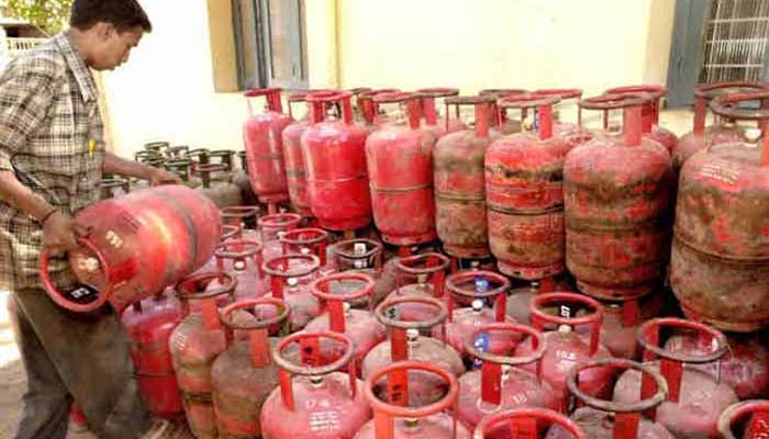 domestic gas cylinder price increased