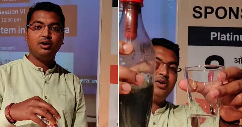 engineering student invented portable water filter