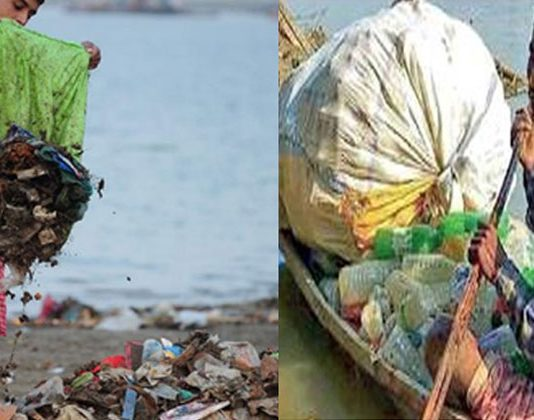 fisherman who clean ganga river