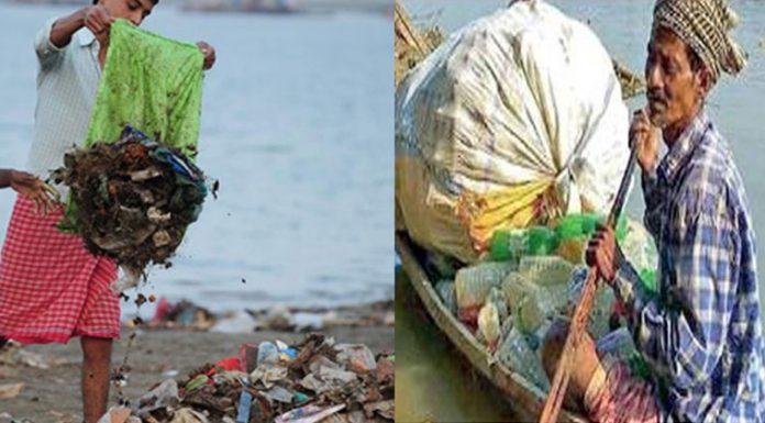 fisherman who clean ganga river