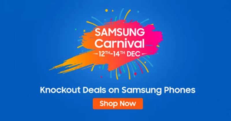 Flipkart Samsung Carnival Sale