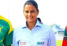 GS Lakshmi will be first Women to officate Men's ODI