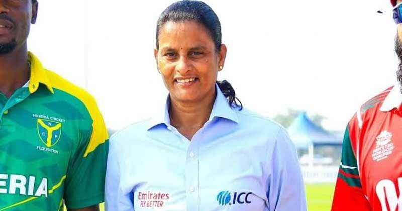 GS Lakshmi will be first Women to officate Men's ODI