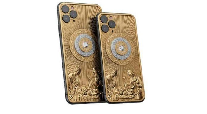 Iphone 11 Pro Gold Diamond Edition