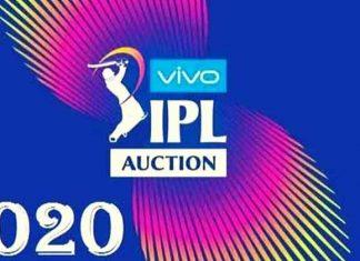 IPL 2020 Auction Date