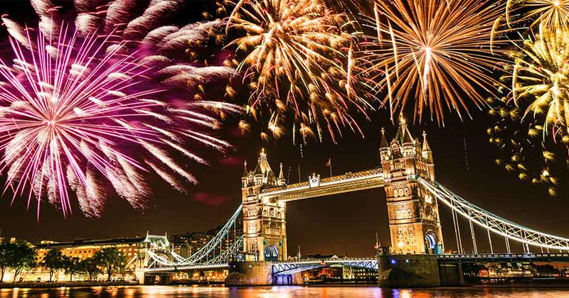 new year traditions in different countries