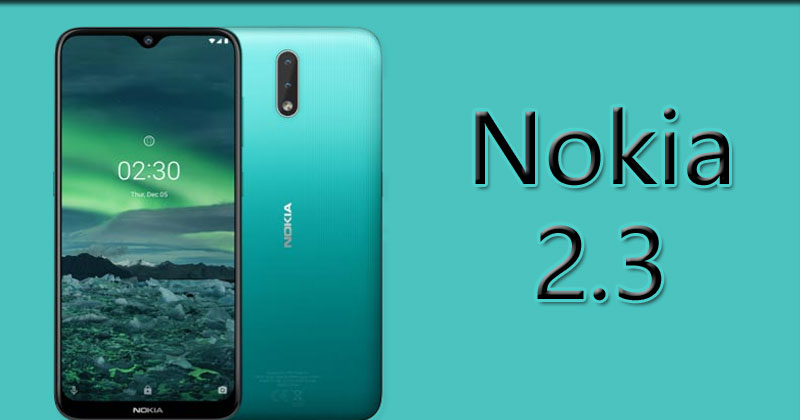nokia 2.3 price in india
