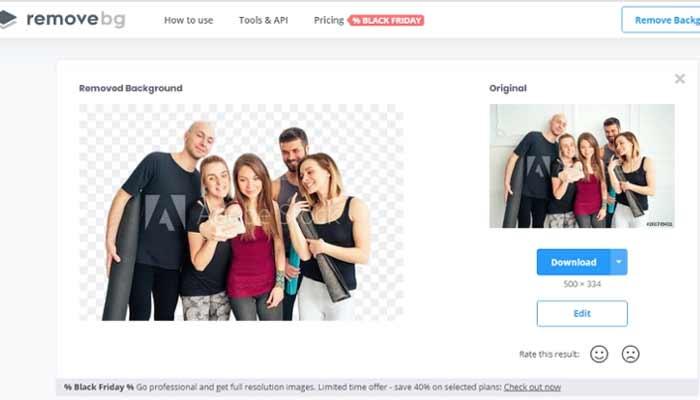 Photo Background Remove Tool