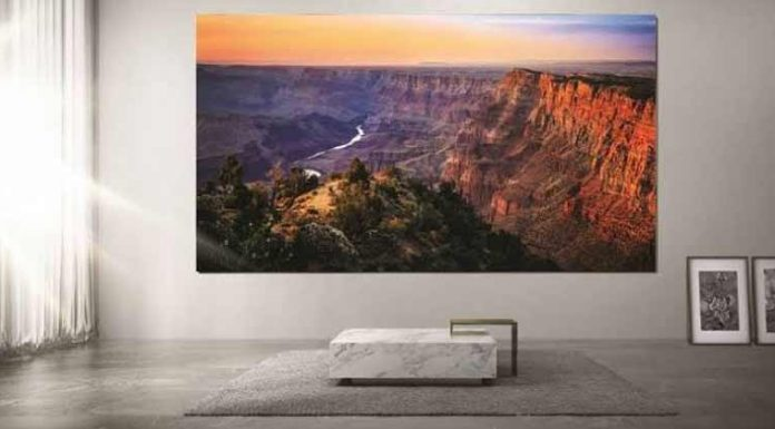 Samsung LED Display 'The Wall' Launch