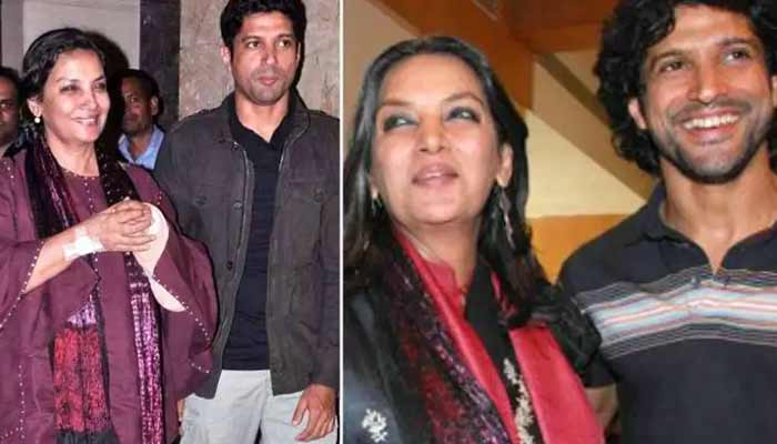 Shabana Azmi &Farhan Akhtar