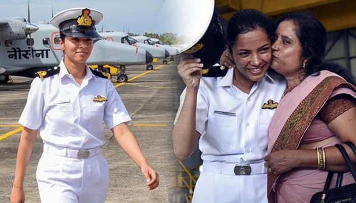Shivangi First Woman Pilot Indian Navy