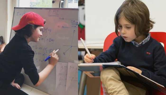 This Child Brain Runs Faster Than Abert Einstein