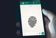 WhatsApp Fingerprint Lock