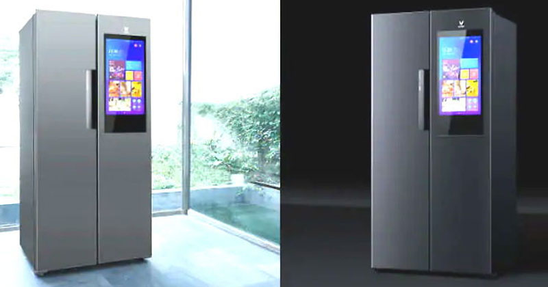 xiaomi launch yunmi smart internet refrigerator