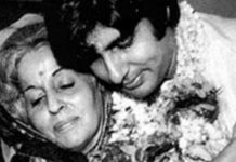 amitabh bachchan emotional post for mother teji bachchan
