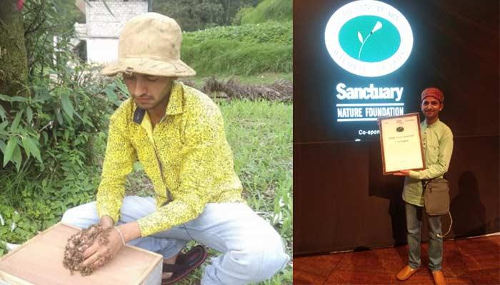 arun gour honeybee rescue jungle