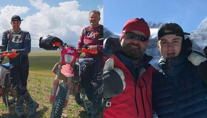 Dad Takes Son To Mongolia For A Month Just To Get Him Off His Phone