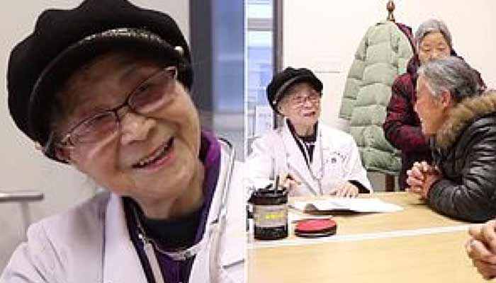 Dr. Ao Zhongfang. is-still-working-at-the-age-of-92
