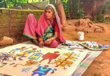 Eighty Year Old Woman Artist From Madhya Pradesh