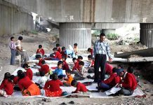 Free School Under The Bridge In Delhi