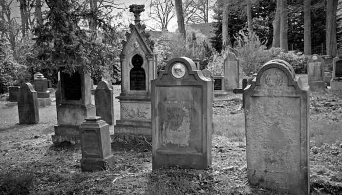 Old Man Shocked To Find His Own Grave In Cemetery In Scotland