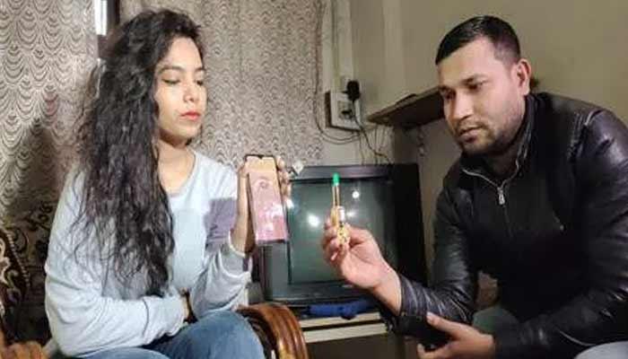 Varanasi Man Made Lipstick Gun For Women Safety