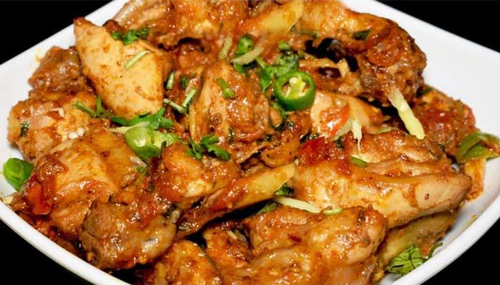 ingredients for kadai chicken