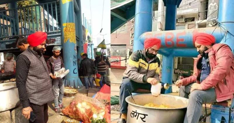 lawyer ds bindra sale his flat to arrange langar at shaheen bagh protesters