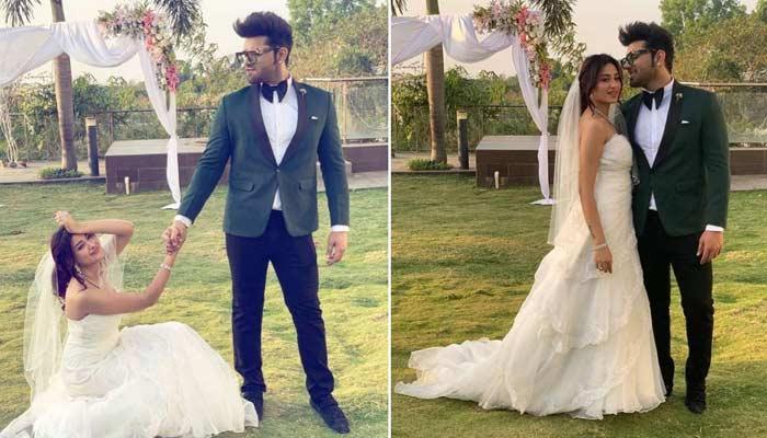 paras chhabra mahira sharma wedding attire