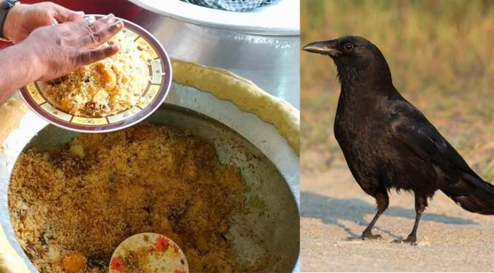 police arrest men who were killing crows selling the meat