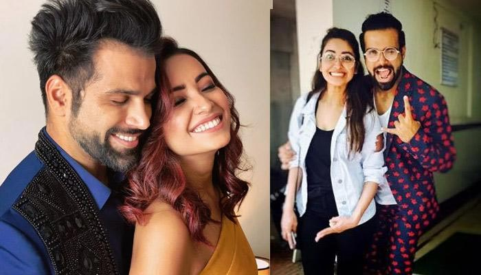 Asha Negi and Rithvik Dhanjani