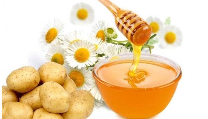 Potato Honey Mask