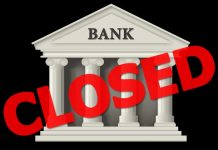 banks remain closed for 13 days in march