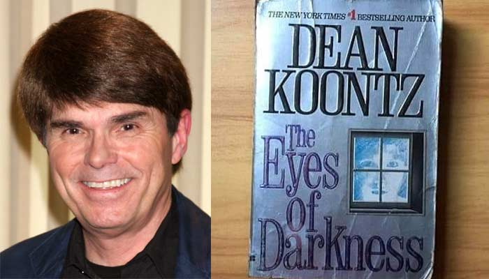dean koontz book the eyes of darkness