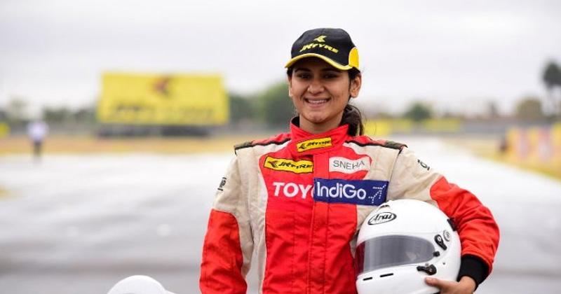 indias fastest f4 racer sneha sharma inspirational story