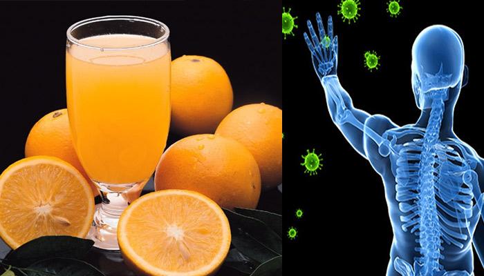 orange juice for immune system