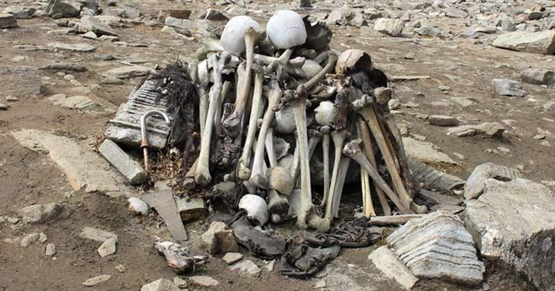 roopkund skeleton lake history