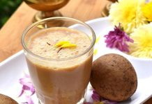 Chikoo Lassi Recipe