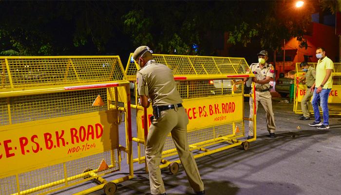 Coronavirus lockdown delhi hotspots