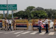 Covid 19 delhi noida border sealed by district administration