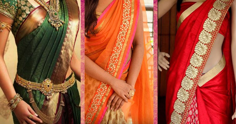 how to wear perfect saree tips