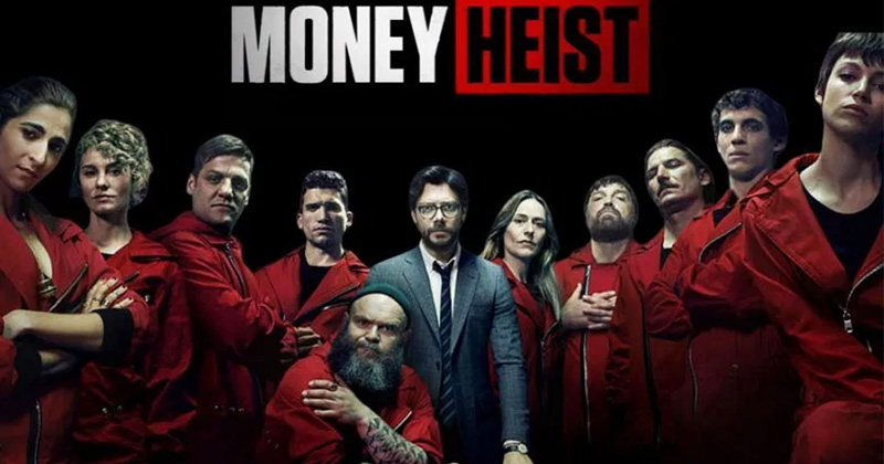 money heist netflix web series got world wide hit know how