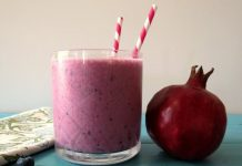 pomegranate smoothie recipe