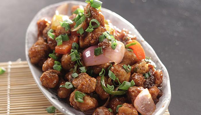 soya chunks manchurian recipe in hindi