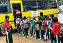 up government on transport fees of school