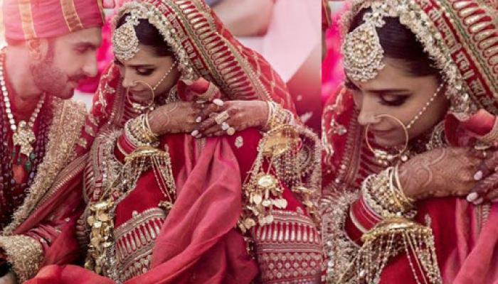 Bollywood Actress Deepika Padukone Wedding Jewellery