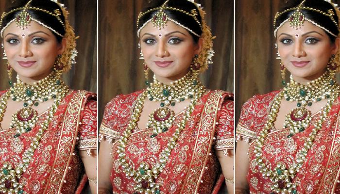 Bollywood Actress Shilpa Shetty Wedding Jewellery
