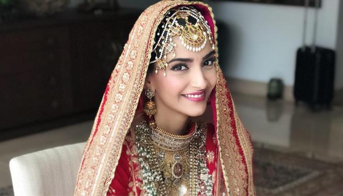 Bollywood Actress Sonam Kapoor Wedding Jewellery