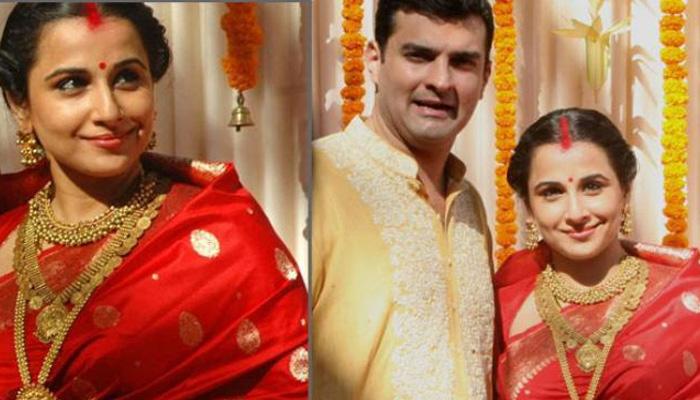 Bollywood Actress Vidya Balan Wedding Jewellery